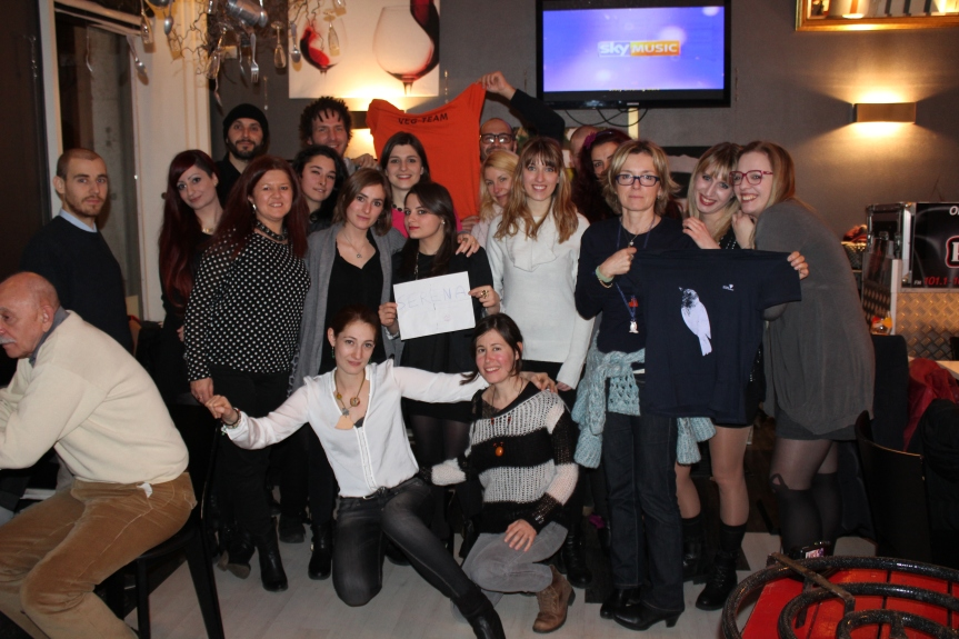 I Veg-Reunion Volontari del FestivalVegetariano